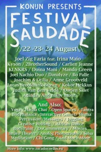 flyer Saudade 2014